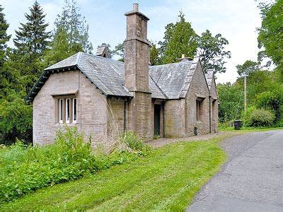 country cottages in the scottish borders