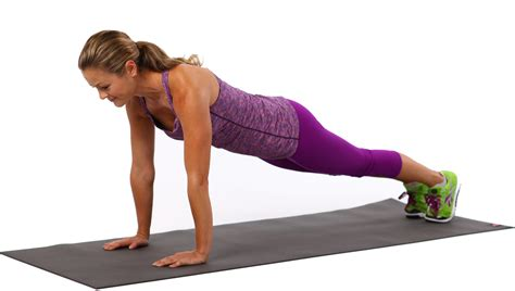 why planks are better than crunches popsugar fitness