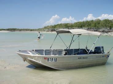 tinny boat owning a jimny and a tinny