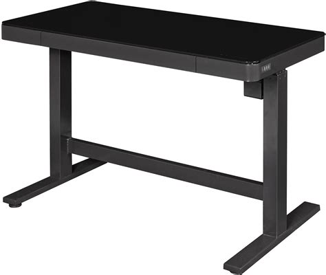 Bell O Black Adjustable Height Desk Odp10444 48d913 Twin