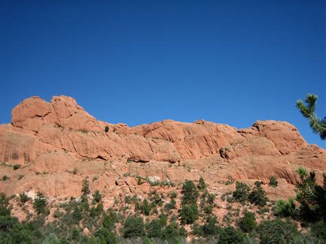 Garden Of The Gods Sleeping Landform Faces Indian Heads And Other Humanoid Rocks