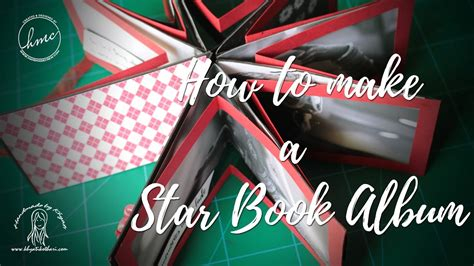 tutorial video star how to make a valentine day star book album diy gift for