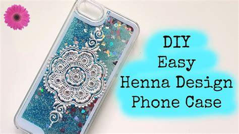 henna design laptop case diy easy henna design phonecase henna art by aroosa