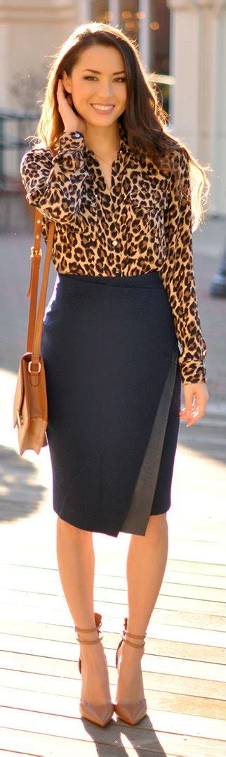 And Black Leopard Print Blouse by Animal Print Blouse On Coral Cardigan Brahmin
