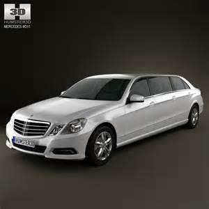 mercedes binz e class limousine 3d model for in