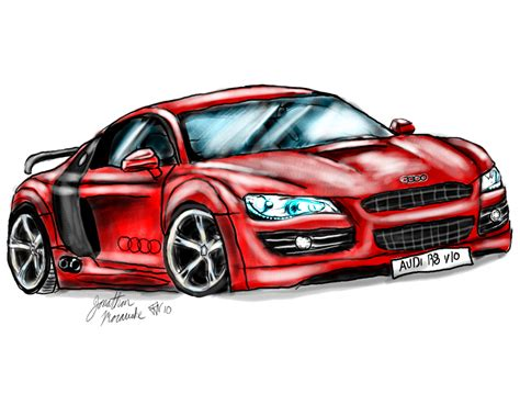 how to draw an audi r8 drawingforall net drawing audi r8 by redgstassassin on deviantart