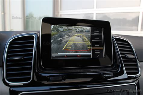 nachruestung rueckfahrkamera code  gle suv  original mercedes benz schawe car design gmbh