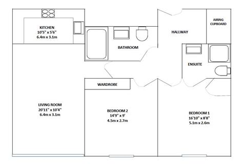 reading a floor plan 2 bedroom furnished apartment to rent in reading the