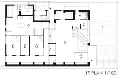 dental clinic floor plan design pony pediatric dental clinic masahiro kinoshita kino architects kamitopen archdaily