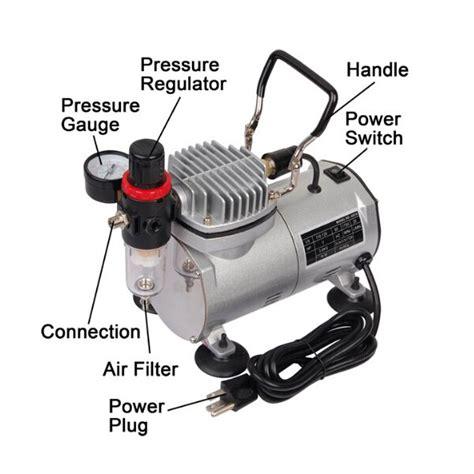 buy  hp mini air compressor airbrush set tattoo model painting tool bazaargadgetscom