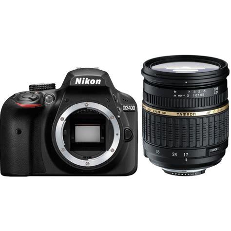 Lensa Tamron 17 50mm For Nikon nikon d3400 tamron 17 50mm dslrs photopoint