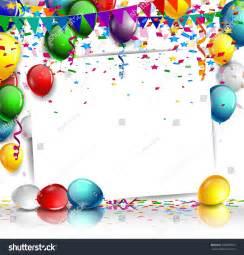 birthday background balloon stock vector 266095664 shutterstock