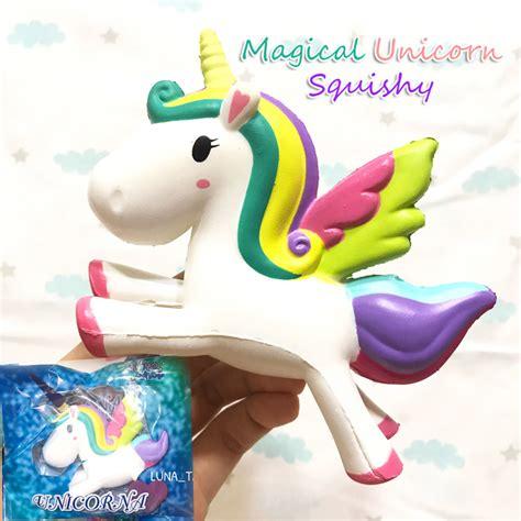 Sale I Orange Squishy By Ibloom Licensed Puni Maru Sof magical unicorn squishy toyboxshop licensed unicorn scented creamiicandy