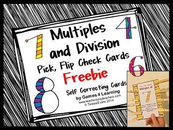 freebies multiples and division clip the world s catalog of ideas