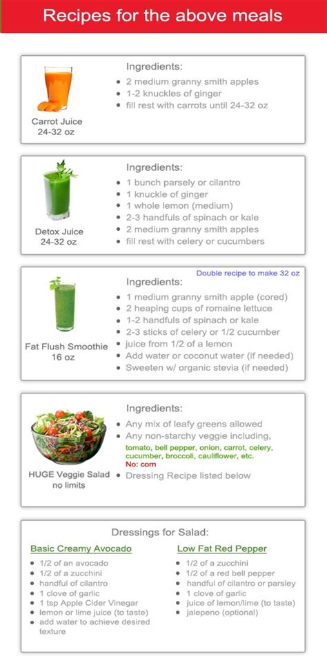 10 Day Detox Diet Plan Recipes by 25 Best Ideas About Detox Juices On Detox