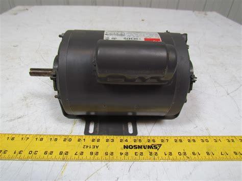 motor run capacitor purpose dayton 6k347d general purpose electric motor capacitor start 1hp 3450rpm 115 230