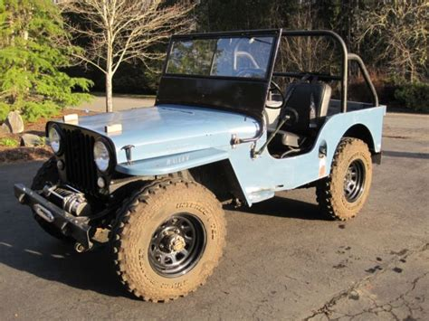 1947 Willys Jeep For Sale 1947 Willys Overland Jeep Cj 2a Resto Mod For Sale
