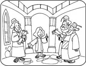 Jesus In The Temple Coloring Page the world s catalog of ideas