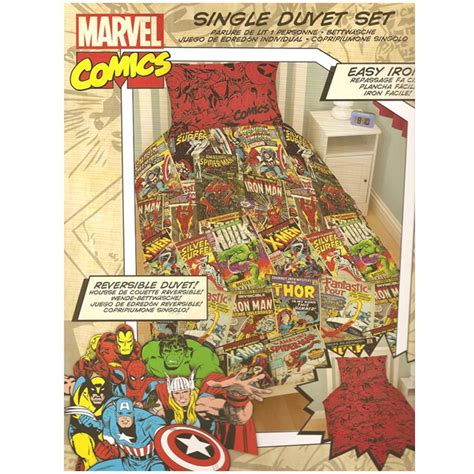 marvel comics bedding official avengers marvel comics bedding bedroom accessories duvets curtains ebay