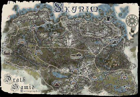 map of skyrim skyrim map all locations printable skyrim get free image about wiring diagram