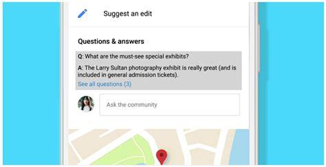 google maps se actualiza con preguntas y respuestas - Hacer Preguntas En Google