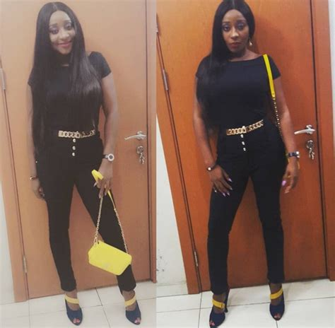 Is Losing Weight And Fans by Ini Edo Shows Look Fans Complain