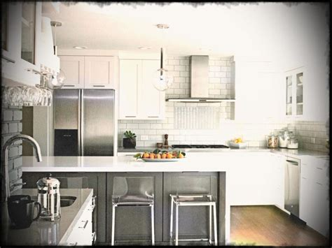 modern white nuance of the condo style furniture kitchen