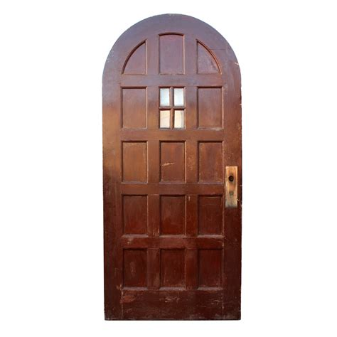 Antique Exterior Doors For Sale Antique Exterior 36 Arched Door With Panels And Window Ned89 Rw For Sale Antiques