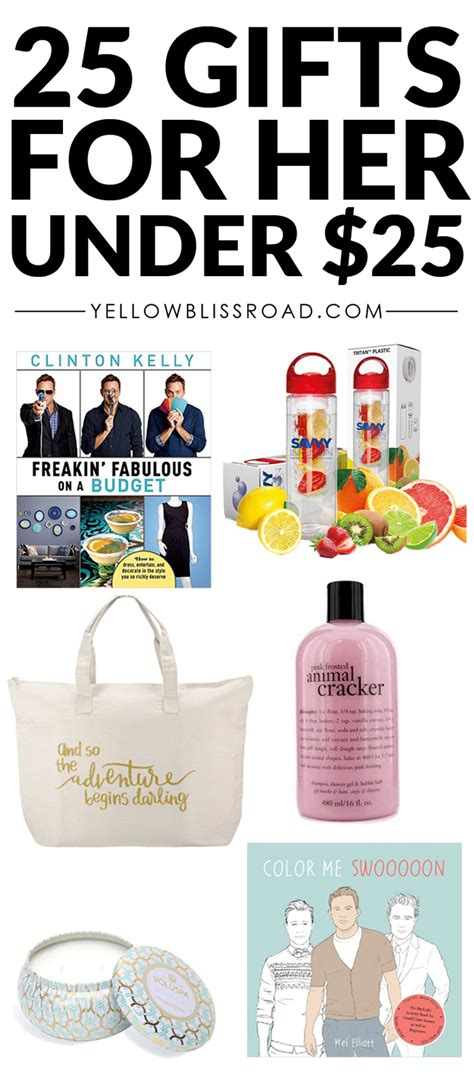 gifts for 25 christmas gift ideas for her to fit every budget yellow