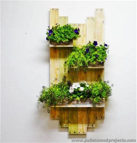 Planter Wall by Adorable Pallet Wall Planter Ideas Pallet Wood Projects