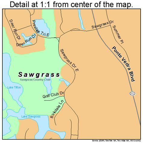 sawgrass map sawgrass florida map 1264525