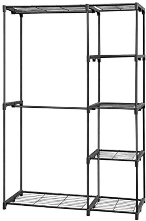 Free Standing Wire Closet Organizers steel free standing closet storage organizer wire shelves clothes rack ebay