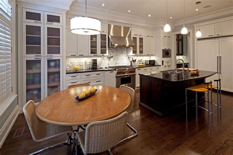 toronto modern crown molding kitchen contemporary with breuer chair cabinetry tube chairs