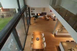 haus mit galerie obergeschoss doppelhausvilla