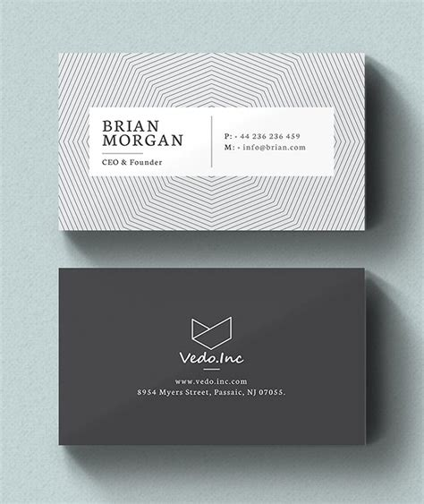 personal business cards examples