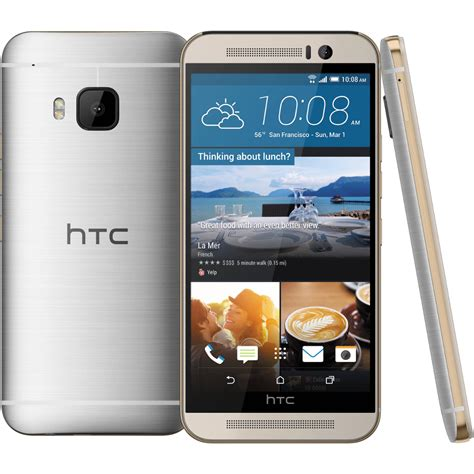 android deals htc one m9 32gb android smartphone att wireless silver excellent condition used cell