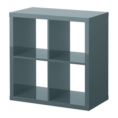 Shelf Ideas For Bathroom by Kallax Shelf Unit High Gloss Gray Turquoise Ikea
