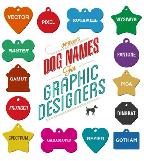 graphics design names swissmiss dog names for graphic designers