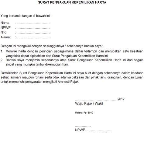 amnesti pajak kepemilikan harta nominee