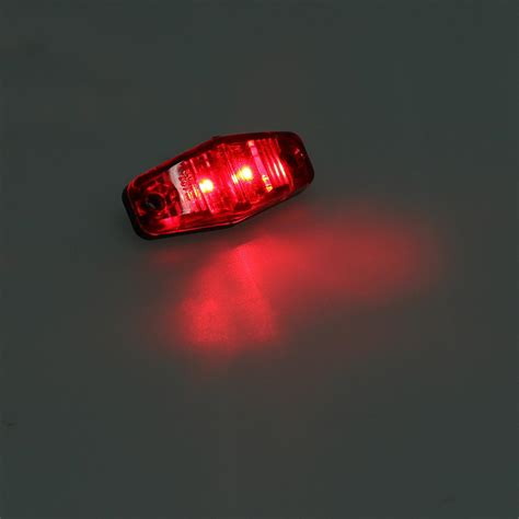 led boat trailer lights oval led small trailer light kit red oval stop turn tail light