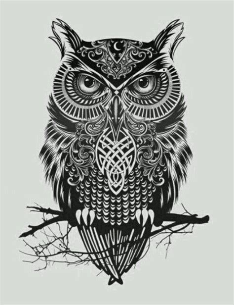 celtic owl and moon by tattoo design on deviantart 131 best images about tattoos on pinterest dream catcher