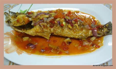 Minyak Goreng Ikan Kerapu tentang aku resepi ikan siakap 3 rasa