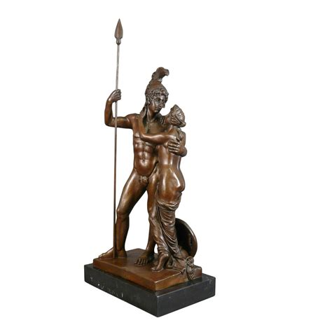 bronze statue of mars and venus tiffany ls art deco