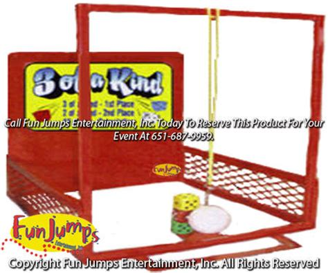 kindness swinging party 3 of a kind carnival games rental twin cities carnivals