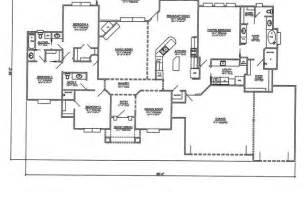 One Story House Plans With 4 Bedrooms One Room House Floor Plans Friv5games Me