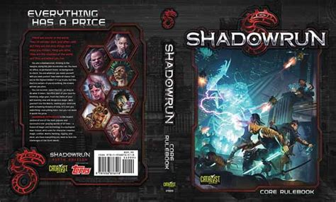 rulebooks shadowrun 5 catalyst labs shadowrun rpg 5th edition rulebook