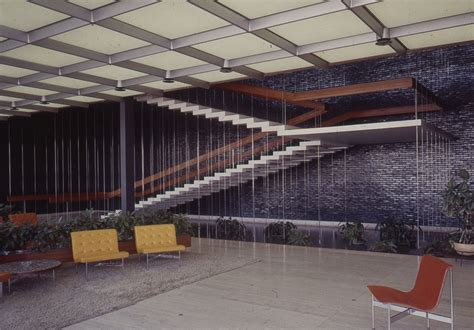 general motors headquarters interior michigan modern