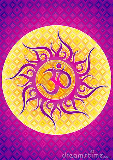 om symbol illustration stock photography image