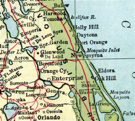 Florida Search Volusia County Volusia County 1907