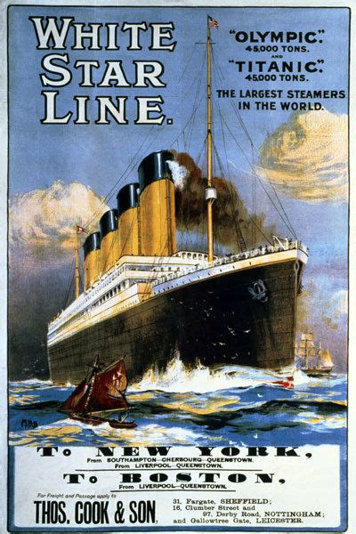 titanic boat poster ts59 vintage white star line titanic olympic cruise